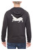 POLER Poler Wolf Zip Hoody Men black